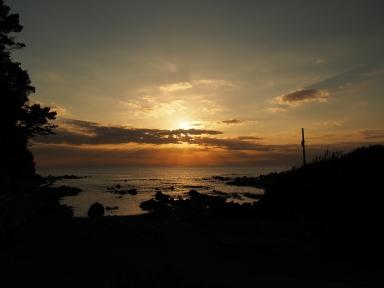 荒崎公園 夕日