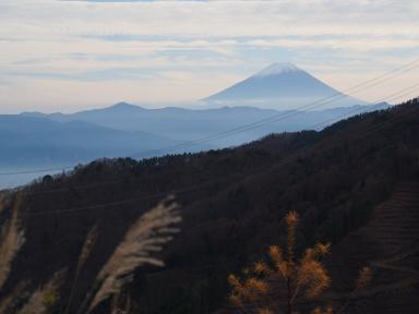 山梨県道219号 富士山