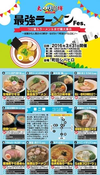 大つけ麺博2016町田第2陣