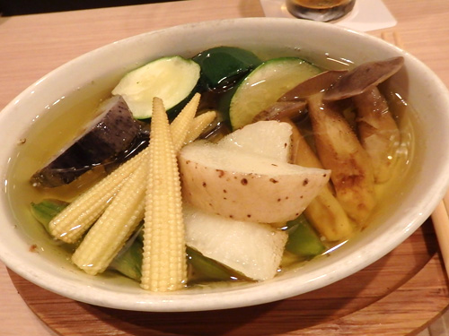 10アツアツ色々野菜のオリーブオイル煮