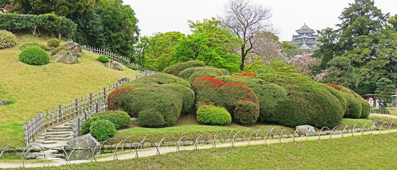 s-20160410 後楽園4月の花が咲き始めた園内ワイド風景 (1)
