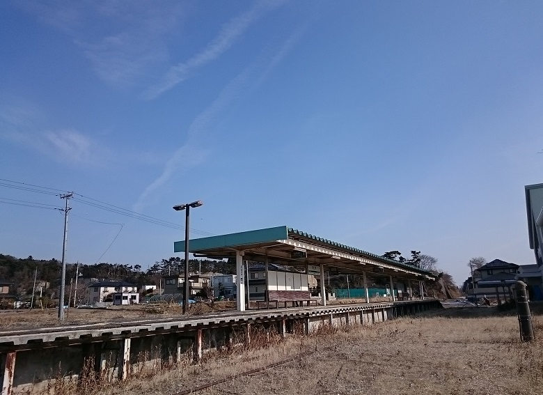 旧野蒜駅2