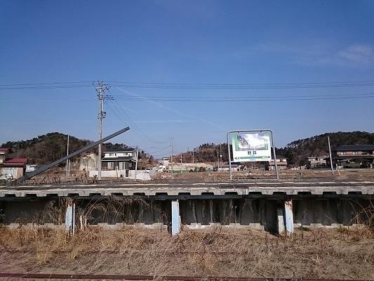 旧野蒜駅1