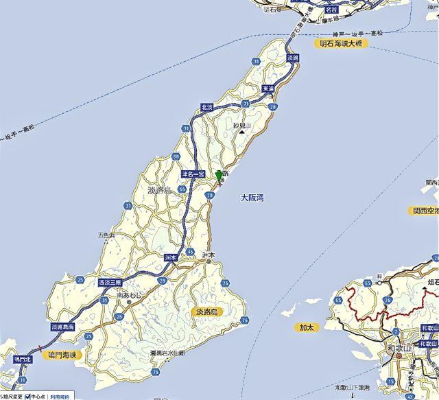 淡路島地図1