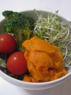 20151013 かぼちゃサラダ
