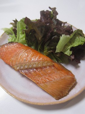 20151021焼鮭 (1)