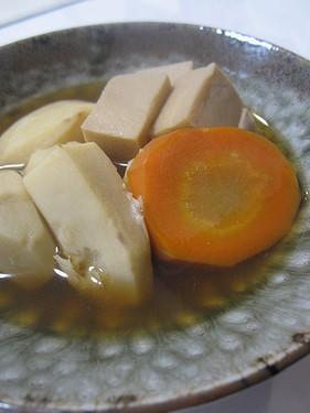 20151115 エビイモと高野豆腐煮