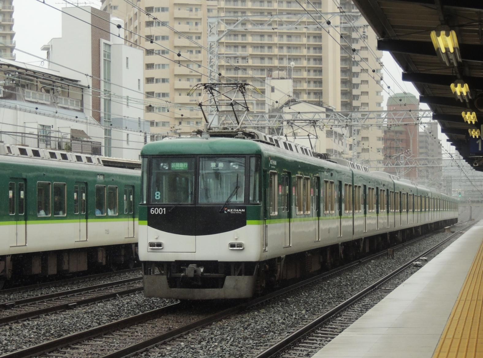 京阪6001編成区準 野江 (2)