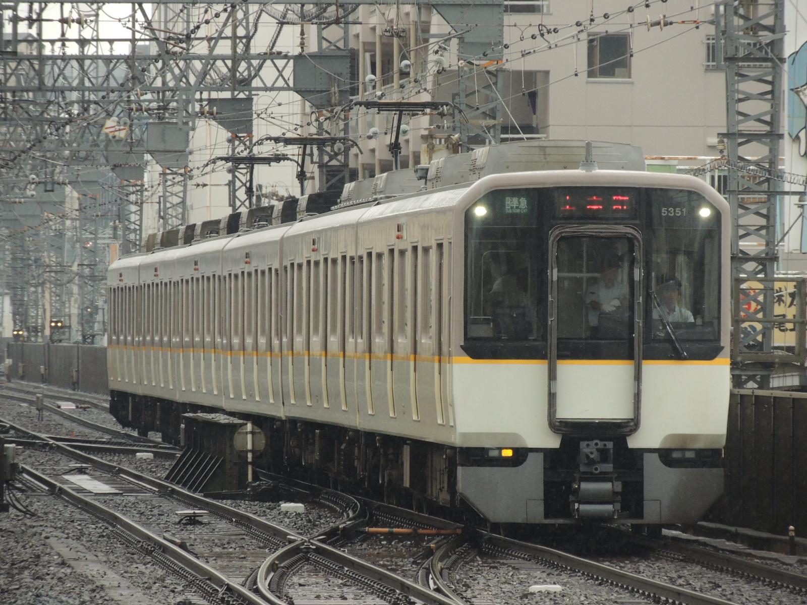 近鉄5351編成 鶴橋