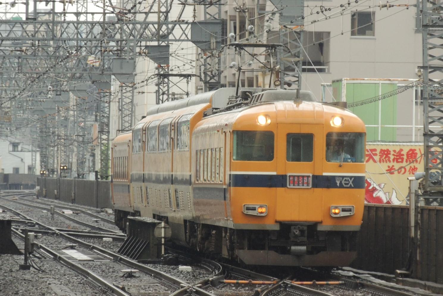 近鉄30000系ビスタカー 鶴橋