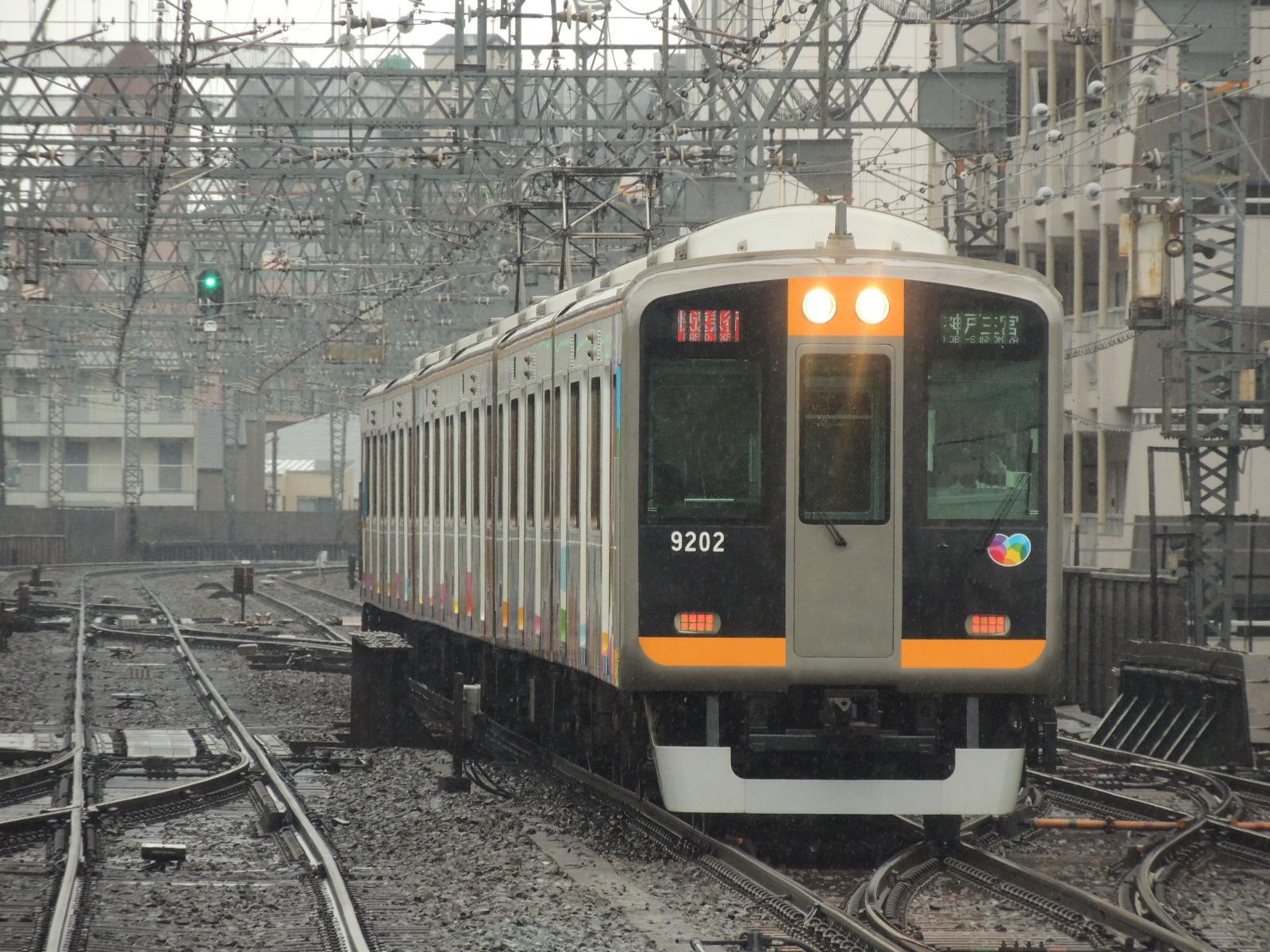 阪神9202編成 鶴橋