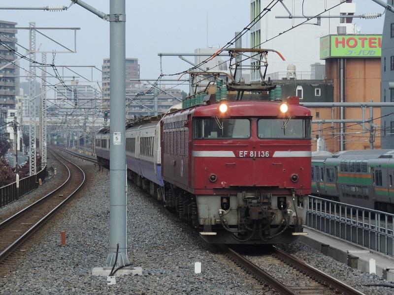 485系3000番台青森車KY入場 浦和 (8)