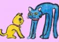 4猫のカップル (2)