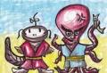 3妖怪蛸坊主と鯰姫