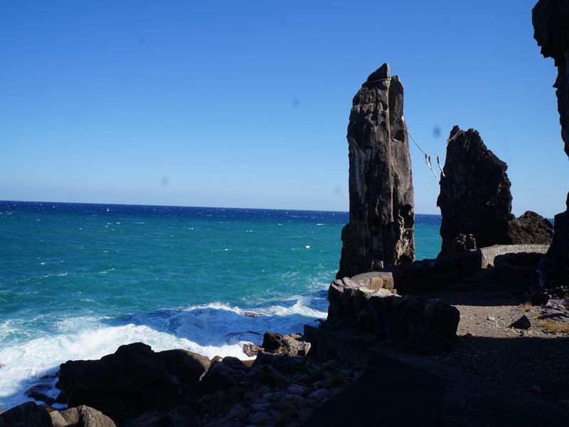 高知 夫婦岩
