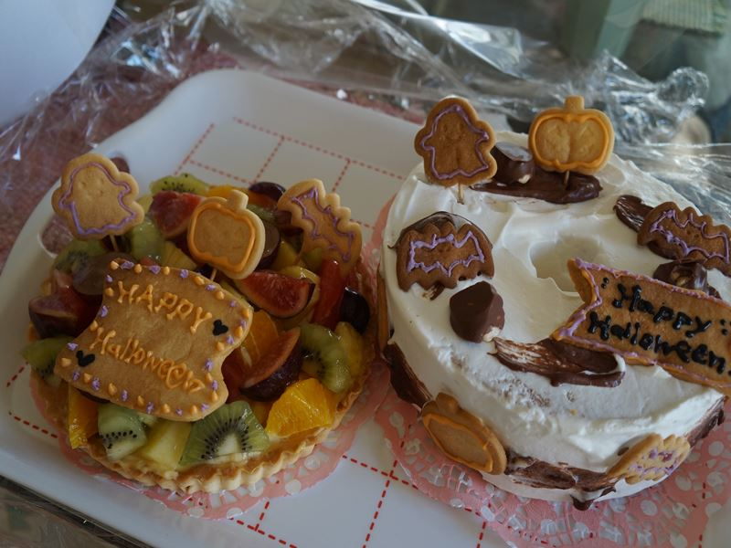ハロウィンのケーキ