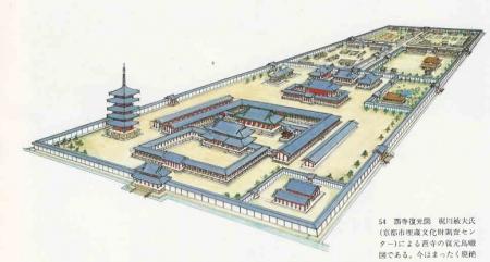 西寺俯瞰図