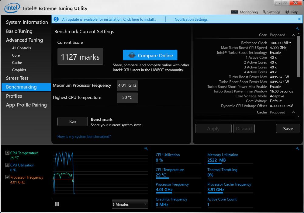 XTU 6600K 4 0GHz