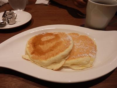 10/18 パンケーキ   むさしの森珈琲
