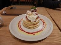 11/16 デザート ストロベリーパンケーキ J.S BURGERS CAFE