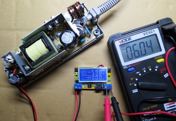 出力電圧測定