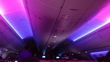 タイ航空機内