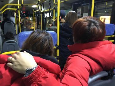 韓国人カップルは冬でも熱い?ㅎ