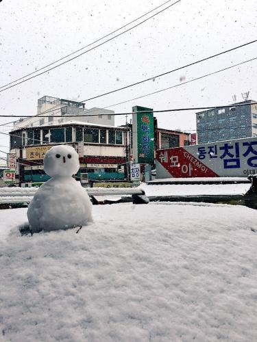 今年の雪だるま!