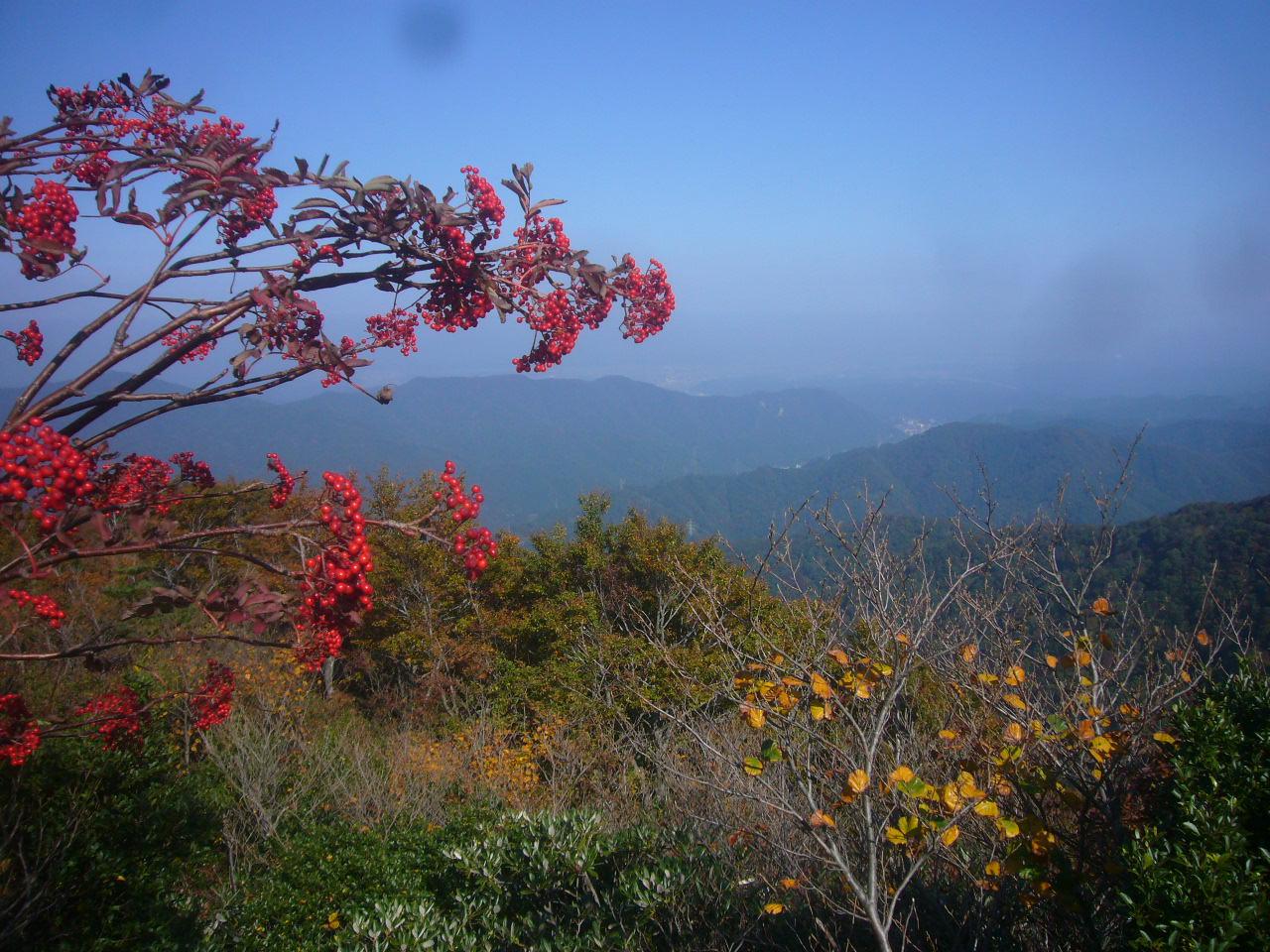 富士写が岳登山道より山中温泉 PM2.5 H27.10.21