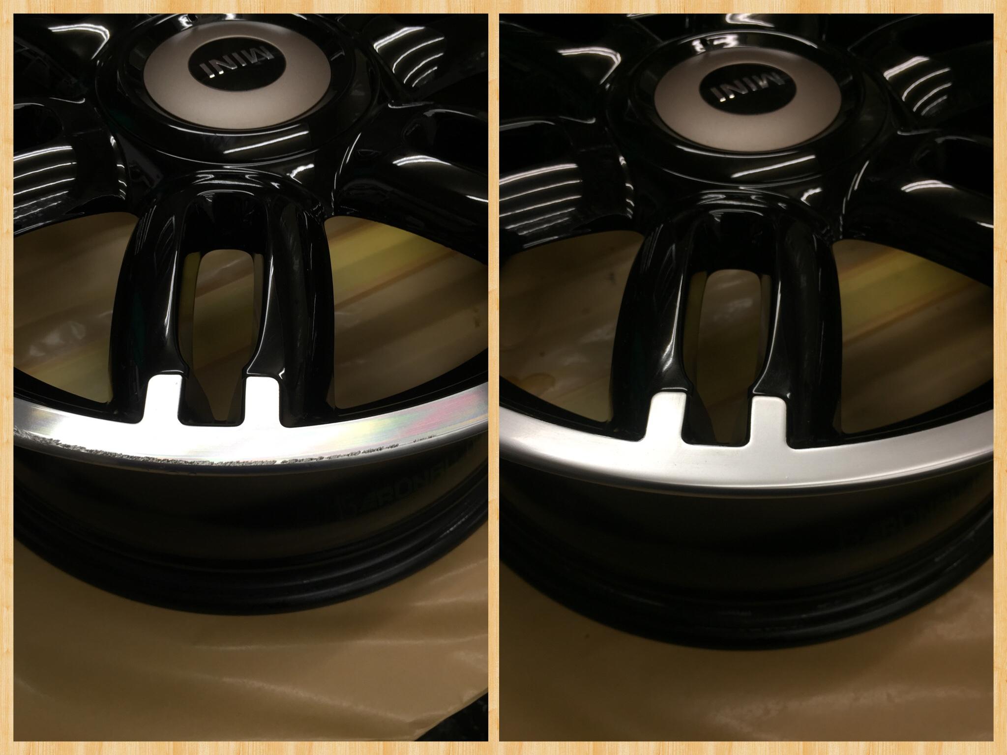 Bmw Mini 純正ホイールリペア Miracle Wheel Ab Z0