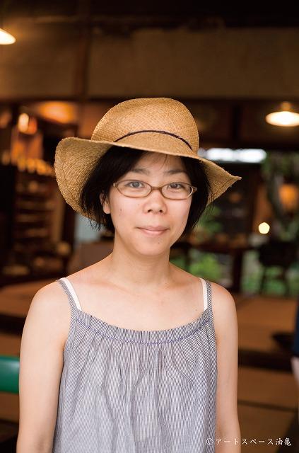 2013年7月14日油亀にて安江かえでさんアーティスト写真L (1)