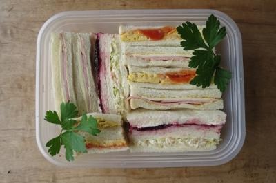 サンドイッチ弁当10月