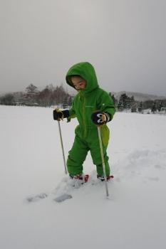 きゅうスキー練習