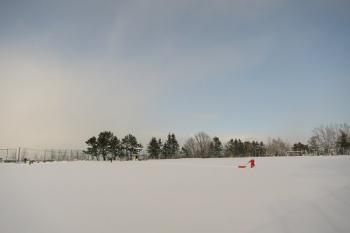 平磯雪遊び