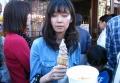 芋ソフトクリーム
