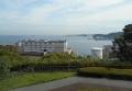 展望台から見る横須賀港