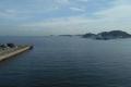 アイクルから見た横須賀湾