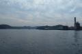 岸壁から見た横須賀港