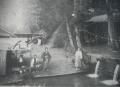 仙波の滝風景(明治34年頃)