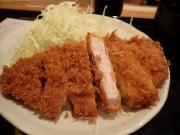 大手町 とんかつ まるや 大手町店 ロースかつ定食(2016/3/15)