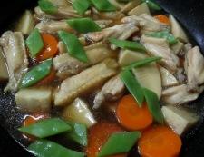 手羽中と筍のうま煮 調理④