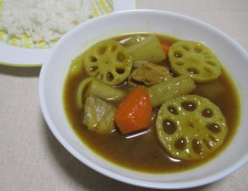 根菜スープカレー 調理⑥