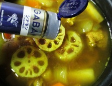 根菜スープカレー 調理④