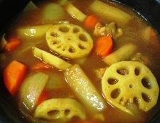 根菜スープカレー 調理⑤