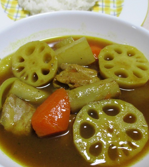 根菜スープカレー 拡大