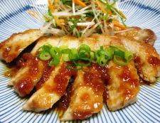 ポークソテー 梅醤油ソース 調理⑥