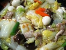 五目うま煮(八宝菜) 調理⑥