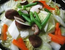 五目うま煮(八宝菜) 調理①