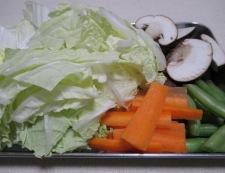 五目うま煮(八宝菜) 【下準備】①