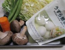 五目うま煮(八宝菜) 材料①